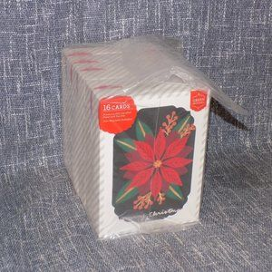 96ct Green Inspired Holiday Note Cards w/Envelopes